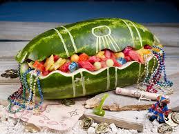 Treasure Chest Decorations Watermelon Board Treasure Chest