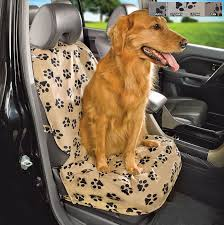 pet shield paw print bucket seat cover
