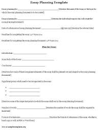 on planning essay on planning
