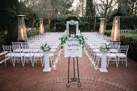 winter sacramento wedding ceremony