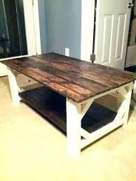 farmhouse style coffee table diy house