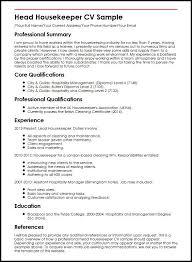 Sample Resume For Hotel Jobs New Example Housekeeping Resume Samples