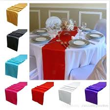 table runner width satin table runner runners wedding decoration supply party decoration cloths tablecloth silk organza holiday decorations table runner