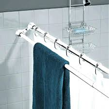 double shower curtain rod straight double shower curtain rod double shower curtain rod photo 1 of