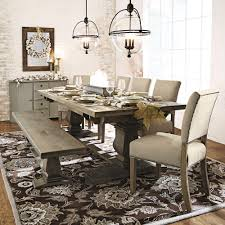grey wood dining chairs. Awesome Home Decorators Collection Aldridge Antique Grey Wood Dining Bench For Table With Chairs And Inspiration