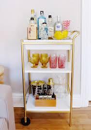 golden bar cart golden bar cart Ikea classy golden bar cart golden bar cart  with white