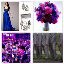 fuchsia, royal blue, purple google search celebration Wedding Colors Royal Blue And Pink wedding pallet cobalt blue, fuchsia, royal purple with accents of silver, crystals and other lighter shades of purple and pink royal blue and pink wedding colors