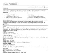Barista resume samples visualcv database samples