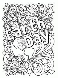 Coloring Pages Celebration Earth Day Coloring Page For Kids Pages