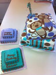 Twin Monkey Birthday Cake Cakecentralcom