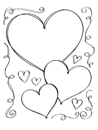 Free Coloring Pages Of Hearts Zupa Miljevcicom