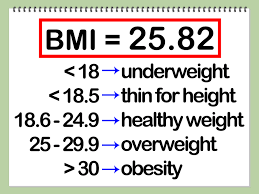 bmi calculation formula