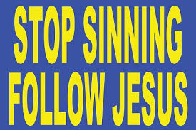 stop sinning
