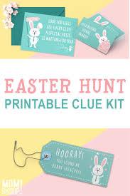 easter egg hunt template adorable easter egg hunt printable clues kit momskoop
