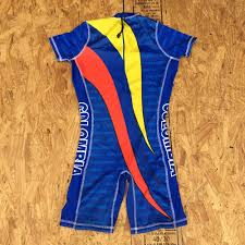 Adidas Weightlifting Singlet Size Chart Colombia Blue National Team Weightlifting Singlet