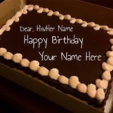 happy birthday chocolate cake with name. Simple Birthday For Happy Birthday Chocolate Cake With Name B