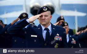 U S Air Force 2nd Lt Michael Brickell 633rd Security Forces Stock