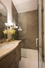 Glass Enclosed Showers photos hgtv glass enclosed shower with taupe herringbone tiles 2636 by xevi.us