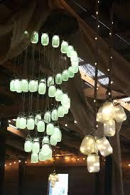 mason jar track lighting. Mason Jar Lighting A Led Light Chandelier Perfect Decor For Rustic Wedding . Track