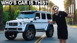 faze rug car. can you guess the youtuber by their car? faze rug car