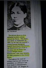 ideas about black history facts on pinterest  african  dwight d eisenhowers mother ida   mother to the first african american president