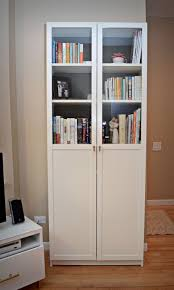 ikea billy bookcase with bookcases with doors ikea for metal bookcase
