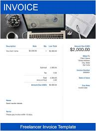 37+ Freelance Invoice Template Word Doc Pictures