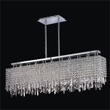 linear crystal chandelier. Rectangular Dining Room Light | Innovations 592CM5LSP-3C Linear Crystal Chandelier A