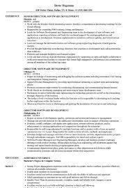 Development Director Resume Director Software Development Resume Samples Velvet Jobs 24
