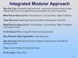 p technology enabled active learning teal redesign of mechanics p28 integrated modular approach sun on line students textbook view online