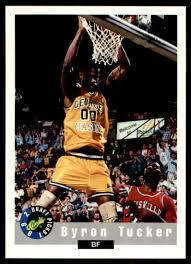 1992-93 Classic Draft Picks Byron Tucker #83 on Kronozio