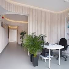 dental office architect. Dublin Dental Practice By Urban Agency Features Curved Walls And Pale Wood Paneling Office Architect E