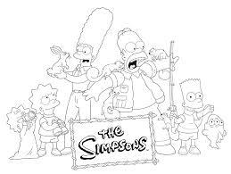 Simpsons Kleurplaat Tv Series Kleurplaat 187 Animaatjes Nl