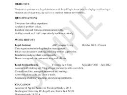 Resume Objective For Legal Assistant Absolutely Ideas Paralegal Resume Objective 24 How To Write A Legal 13