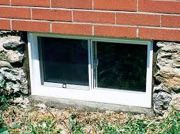 basement windows sizes. Delighful Basement Outside View Of One Our Vinyl Replacement Basement Windows Throughout Basement Windows Sizes
