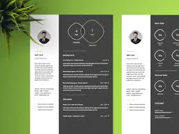 Modern Cv Resume Template For Ai Free Modern Resume Template