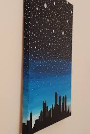 acrylic painting canvas original boston skyline by dilliedesigns the would be cool with a diffe skyline eville or wilmy or dallas