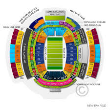 New Era Field Interactive Seating Chart Bills Tickets 2019 Buffalo Games Cheap Ticket Prices Buy