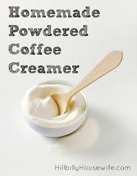 a simple recipe for powdered coffee creamer you can make in your blender