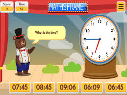 Telling The Time Mathsframe