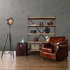 industrial style living room furniture. european industrial loft style living room furniture home old retro shelves multilayer wood clapboard frame