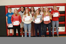 "HPREDDEVILS on Twitter: ""Ann Killen, Reegan Tigner, Rylan DeVries, Jordan  Zimmer, Addison Hultgren, Sara Sumner, Clayton Donally, Alana Graves, and  Emily Poole - HP Lions and Lioness Scholarship Isaiah Bouchard, Reegan  Tigner,"
