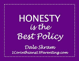 honesty is the best policy corinthians parenting honesty is the best policy