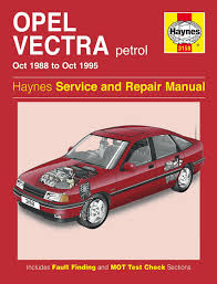 opel vectra petrol oct 1988 oct 1995 haynes work repair manual great for any professional or diy mechanic or enthusiast