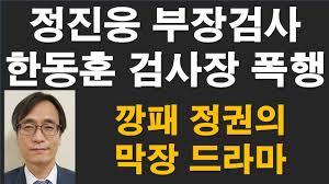 정진웅 부장검사, 한동훈 검사장 폭행. 깡패 정권의 막장 드라마 [RNB, 레지스탕스TV, 정광용TV] - YouTube