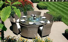 round outdoor table and chairs garden table chairs covers