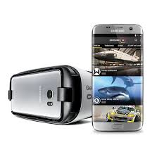 samsung virtual reality headset. explore virtual reality in the samsung vr app with a galaxy phone and gear headset