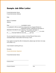 Fresh Job Offer Letter Format Pdf 2018 Appointment Doc Date A New