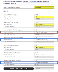 New York State Child Support Percentage Chart Nys Dcss Income Withholding Worksheet