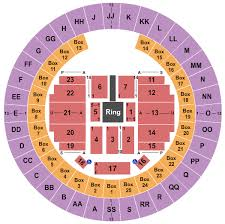 Little Caesars Arena Seating Chart Wwe Wwe Live Tickets At Mobile Civic Center Arena On March 19